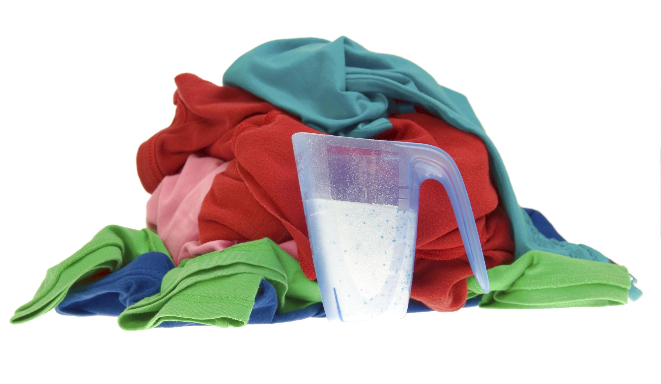 Bikarbonat i tvättstugan